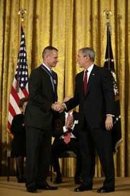 Bush congratulates Pace